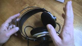 review - AKG K 242 HD High Definition Headphones