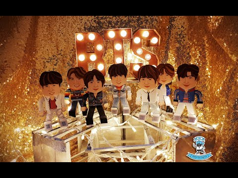 BTS PAPERTOY DIY (DO IT YOURSELF)
