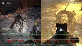 Metro 2033: Xbox One Redux vs Xbox 360 Original Frame-Rate Test