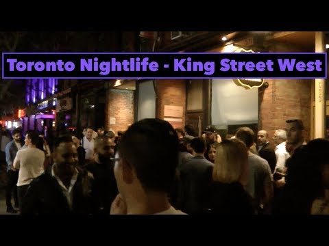Toronto Nightlife 🇨🇦 King Street West