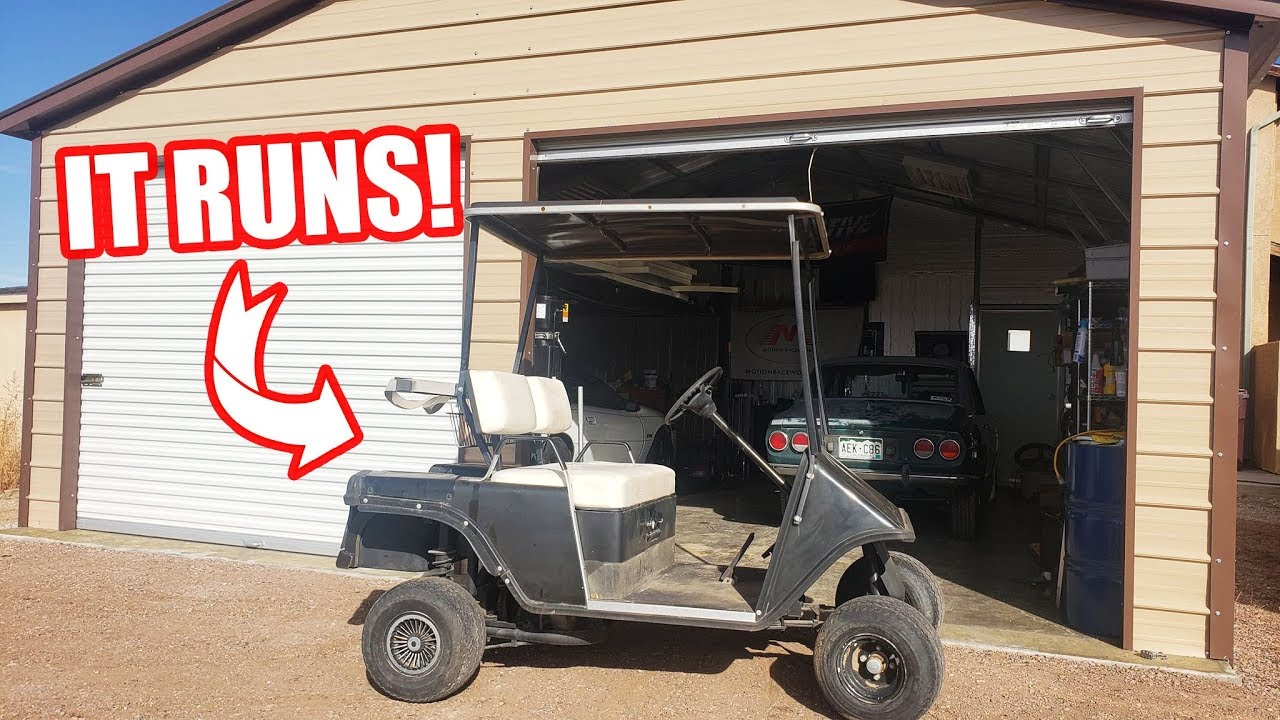 Fixing My Ezgo Golf Cart New Fuel Pump Cleaned The Carb And It Runs Youtube
