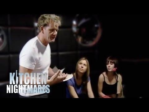 Waiter Training with Gordon Ramsay - Kitchen Nightmares