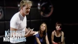 Waiter Training with Gordon Ramsay - Kitchen Nightmares