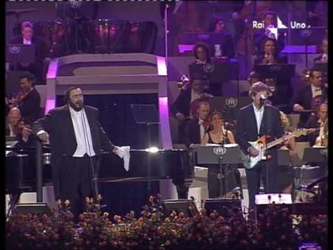 Luciano Pavarotti & Eric Clapton - Holy mother Live Pavarotti and friends 2003