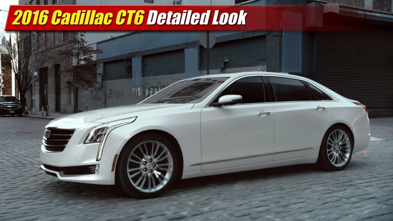 2016 Cadillac Ct6 Detailed Look Youtube