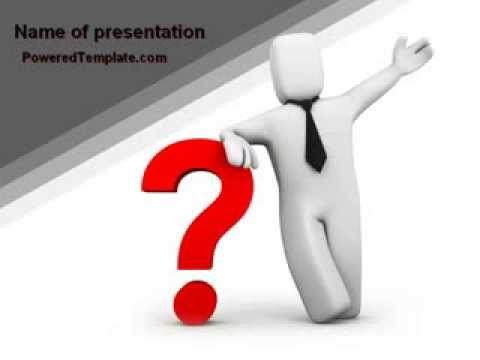 Red question mark under hand of man powerpoint template by red question mark under hand of man powerpoint template by poweredtemplate youtube toneelgroepblik Image collections