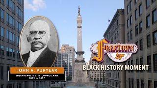 John Puryear  |  Freetown Village Black History Moment