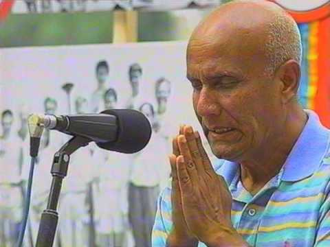 Peace message by Sri Chinmoy