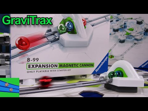 GraviTrax Magnetic Cannon Review by Marble Grooves A Great Tool For Building Your Marble Runs
