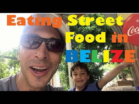Should You Eat Street Food on Ambergris Caye in Belize? Watch This!