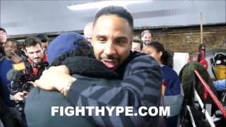 ANDRE WARD TREATS EACH AND EVERY FAN SPECIAL ...