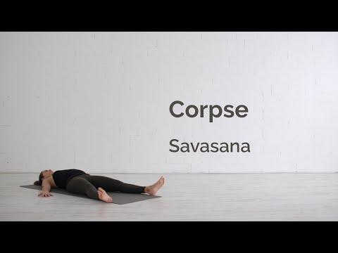 Corpse Pose (Savasana) Tutorial