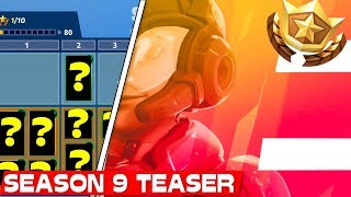 SEASON 9 BATTLE PASS SKIN?! | Fortnite Season 9 Teaser 2