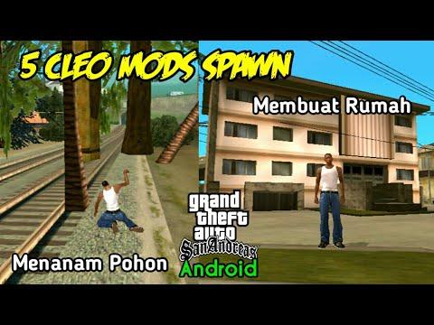 5 Cleo Mods Spawn - GTA SA Android