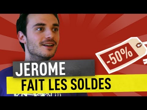JEROME FAIT LES SOLDES