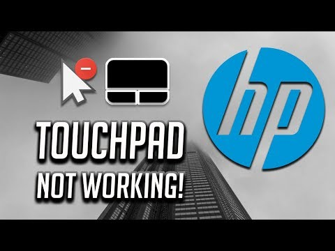 HP Touchpad Not Working In Windows 10/8/7 [2020 Tutorial]