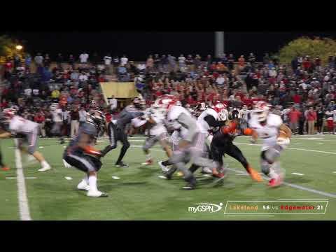 "FHSAA Playoffs Lakeland 56 vs Edgewater 21 ""Game Highlights"""