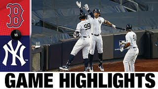 Aaron Judge powers Yankees to 9-7 win | Red Sox-Yankees Game Highlights 8/2/20
