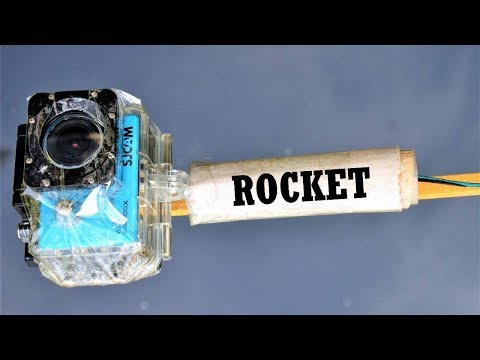 EXPERIMENT ACTION CAMERA ON THE ROCKET