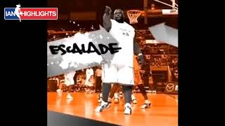 Escalade, it's like you mix Shaq and Iverson...