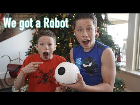 Ashton and I got a Robot!