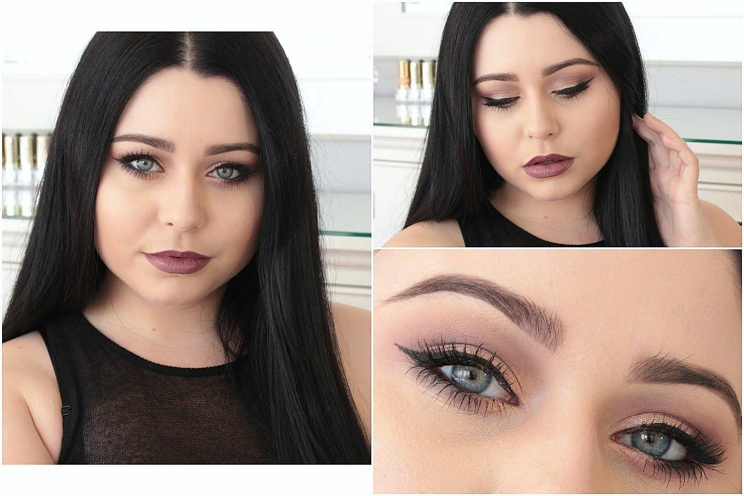Mauve Amp Copper Makeup Tutorial Morphe Single Eyeshadows Youtube
