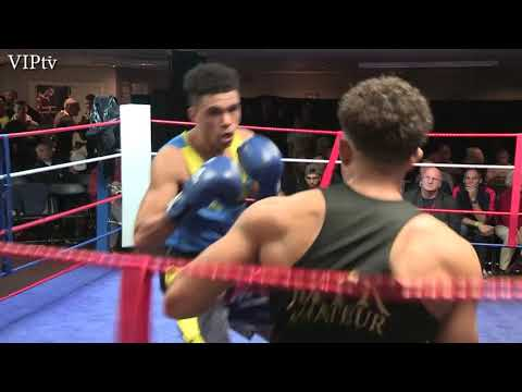 Wes Harriot v Nathan Jacobs NWR Senior A Development Final 69kg