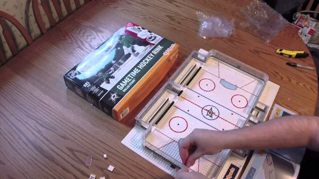 oyo gametime hockey rink build and review youtube