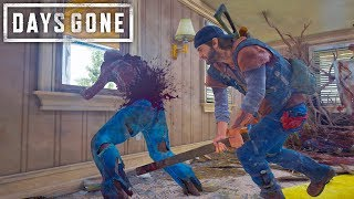 Days Gone - Surviving With The Worst Weapons  Days Gone Free Roam Gameplay 33