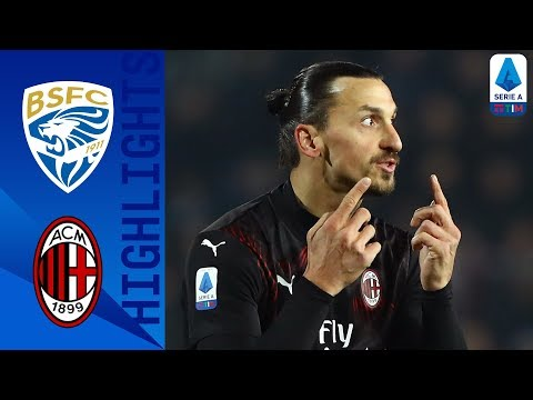 Brescia 0-1 Milan | Rebic's Goal Gives Milan the Win! | Seri
