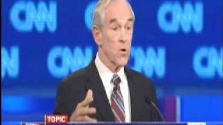 Ron Paul Highlights in 1/19/2012 Presidential Debate
