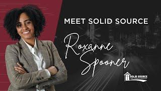 Meet Solid Source | Roxanne Spooner