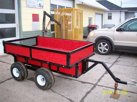 Build an ATV Tub Trailer with a Walking Beam Suspension