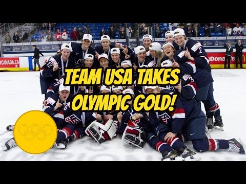 USA Women's Hockey Takes Gold Over Canada in Shootout! (MINI RANT!)