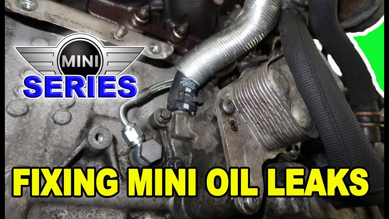 Mini Cooper Oil Leak Repairs (R56/N14)