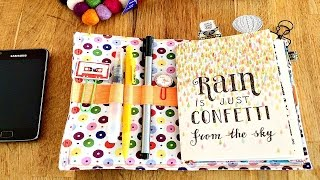 DIY Planner on a Budget: FauxDori on a Budget, Fabric-Dori