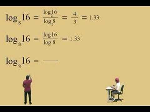 Logarithms - Change of Base Rule & Applications Part 1