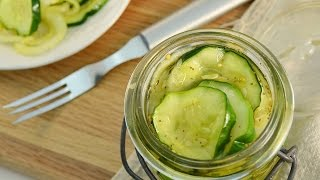 How To Make Bread & Butter Pickles - 24 Hour Pickles Recipe   Radacutlery.com