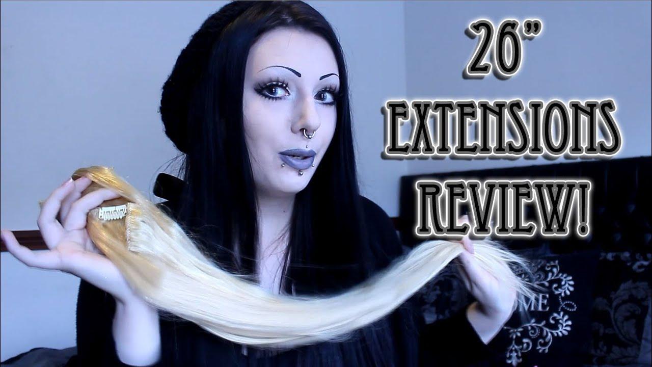 Besthairbuy 26 Hair Extension Review Red Dye Demo Toxictears