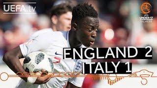 U17 highlights: England v Italy