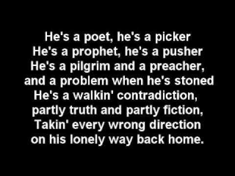 Kris Kristofferson 'The Pilgrim   Chapter 33' with lyrics