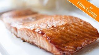 焦糖烤鮭魚排 【創意料理】氣炸鍋 烤箱食譜 料理影片 Caramelized Grilled Salmon HowLiving美味生活   矽谷美味人妻