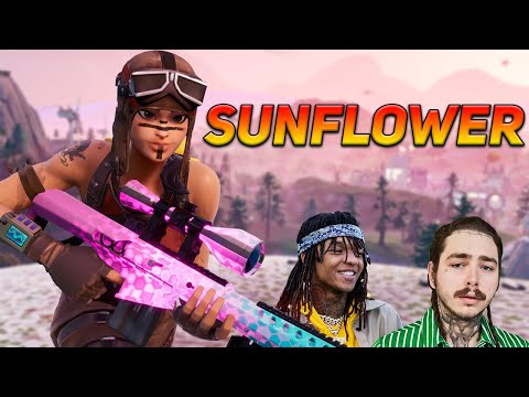 "Fortnite Montage - ""SUNFLOWER"" Post Malone Swae Lee"