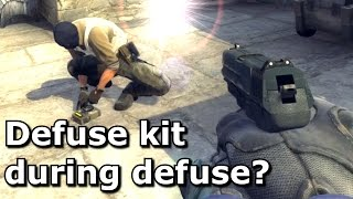 Picking up a defuse kit whilst defusing thumbnail