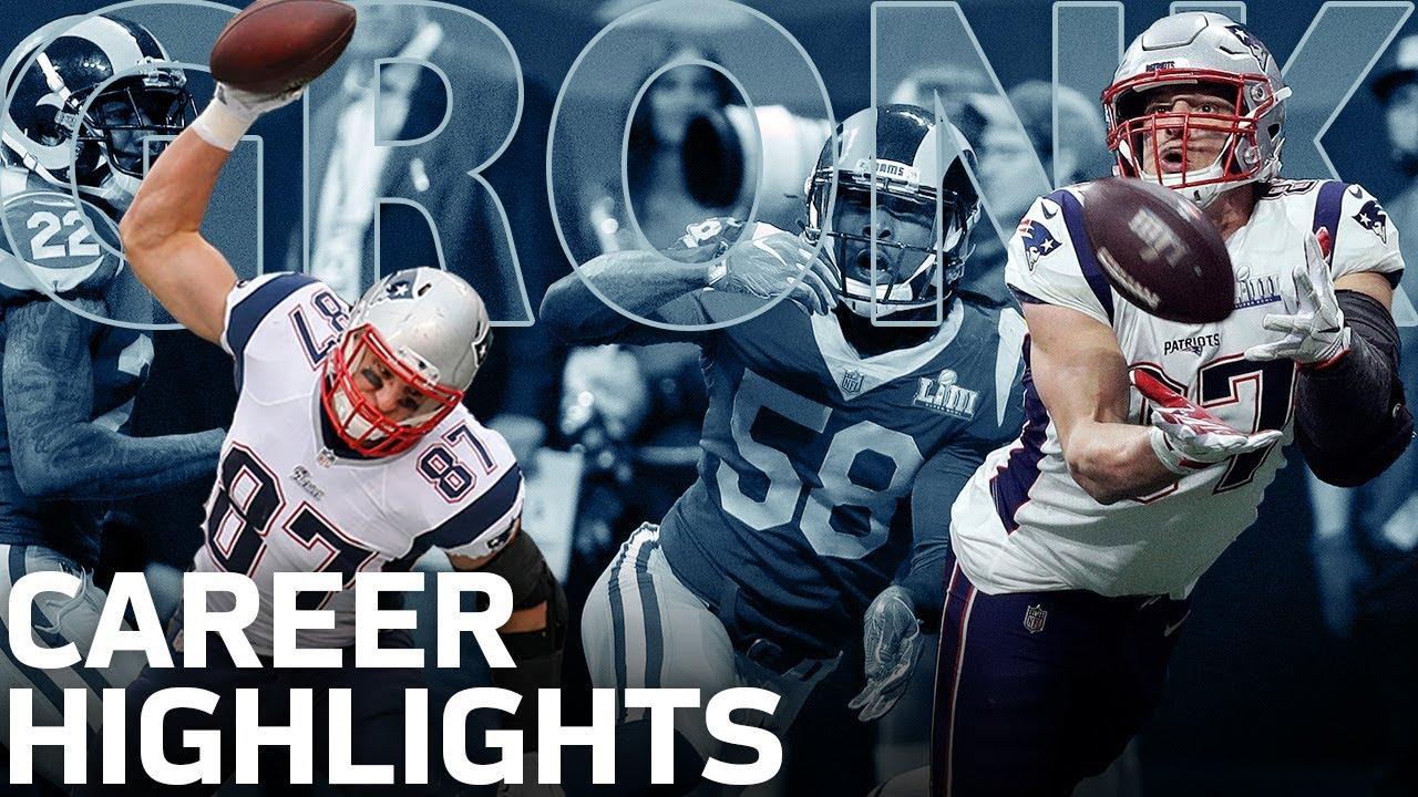 Rob Gronkowski's POWERFUL Career Highlights! | NFL Legends