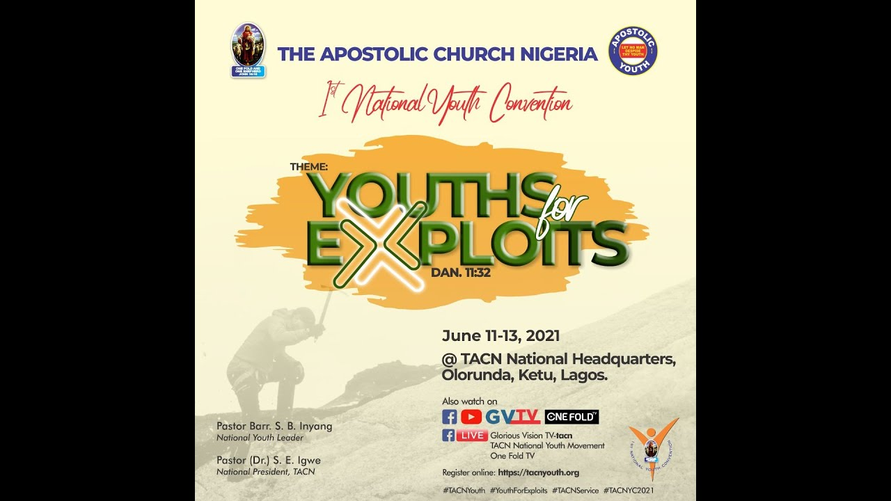 Download TACN 1ST NATIONAL YOUTH CONVENTION // JUNE 11-13, 2021