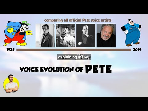 Voice Evolution of PETE, Disney's Oldest Character, Over 94 Years (1925-2019) Compared & Explained from YouTube · Duration:  11 minutes 43 seconds
