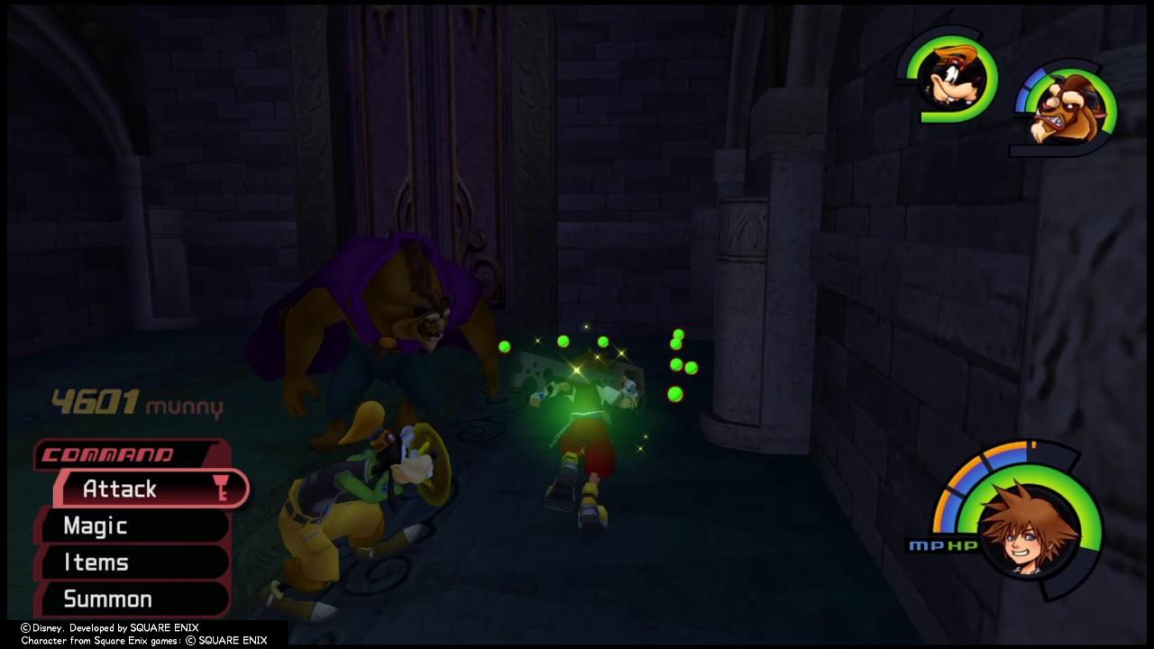 Kingdom Hearts Birth By Sleep - Maleficent Boss Fight