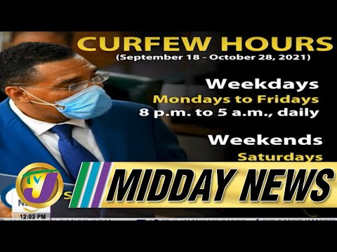 Revised Covid Measures in Jamaica   Covid Death Backlog Concerns   TVJ Midday News