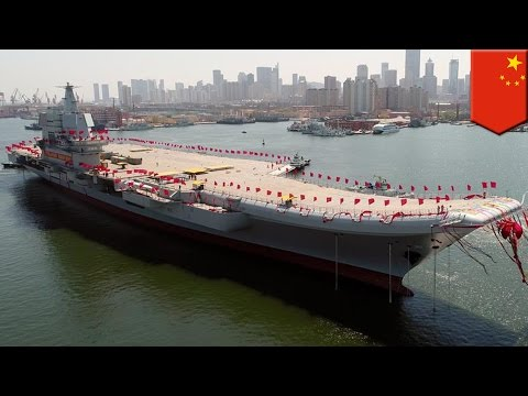 Thumbnail: Chinese aircraft carrier: Beijing launches Type 001A, first domestically built carrier - TomoNews